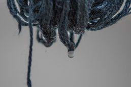 Drip-drying.