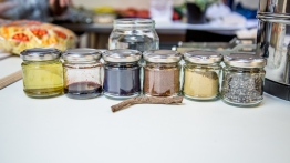 Our pigments! Including cochineal, indigo, madder, and weld!